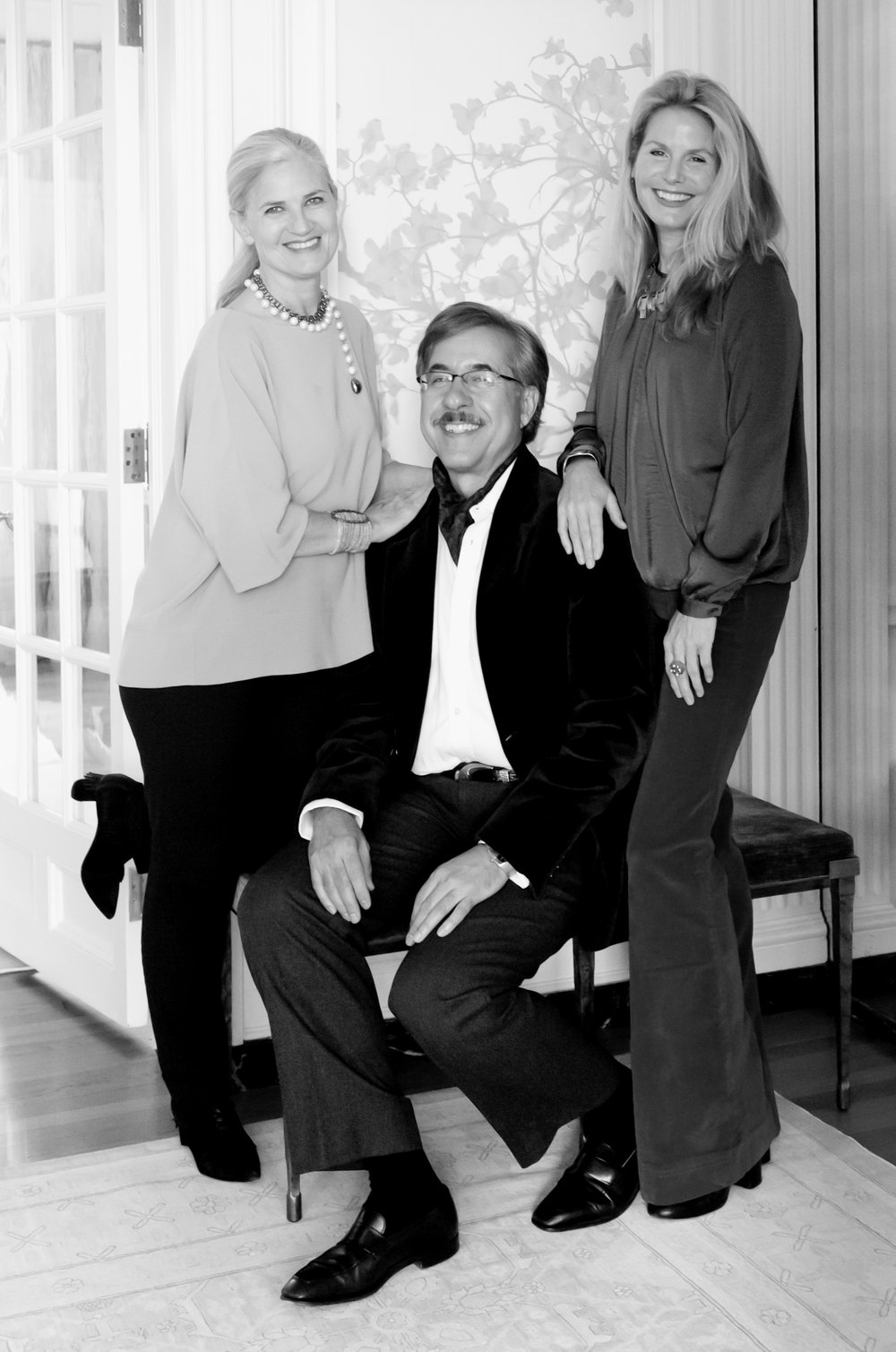 Mariana Antinori, Juan Prieto, Lee Essex Doyle (left to right)