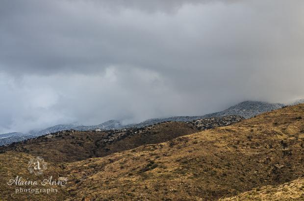 Incoming Desert Snow | Photograph Story | Alaina Ann Photography