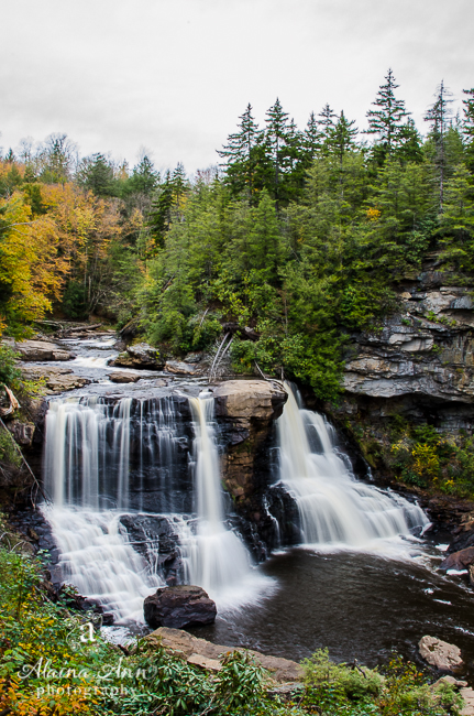 Blackwater Falls | Alaina Ann Photography