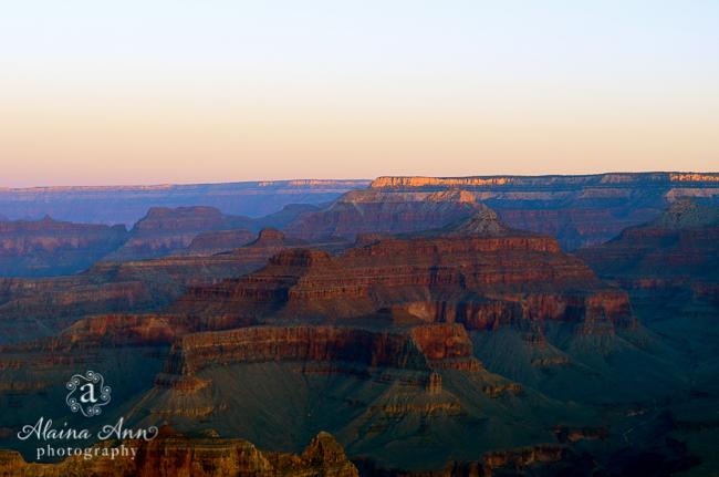 Grand Canyon Sunrise | Alaina Ann Photography