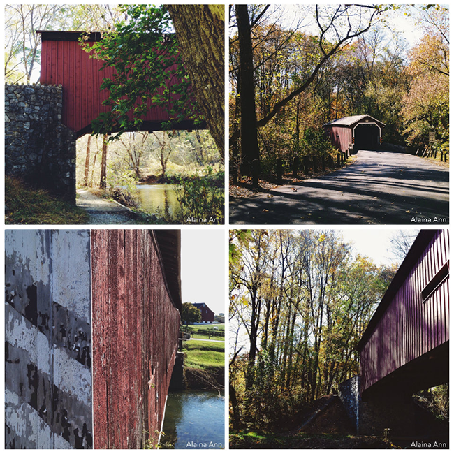 iPhone Favorites from a Pennsylvania Covered Bridges Road Trip | Alaina Ann Photography