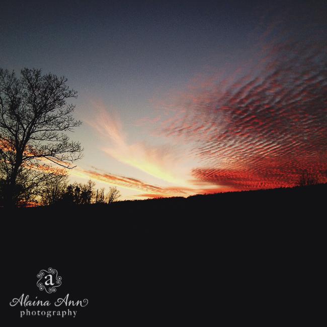 Breezewood Sunset | Alaina Ann Photography