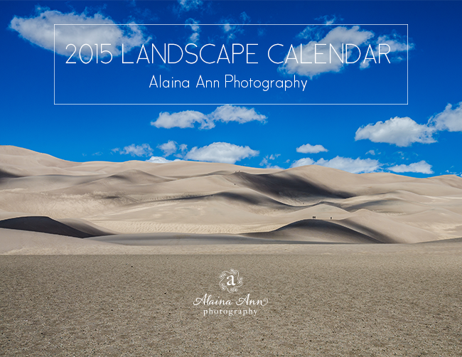 2015 Landscape Calendar