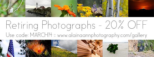 Retiring Photographs | March 2014 | Alaina Ann Photography
