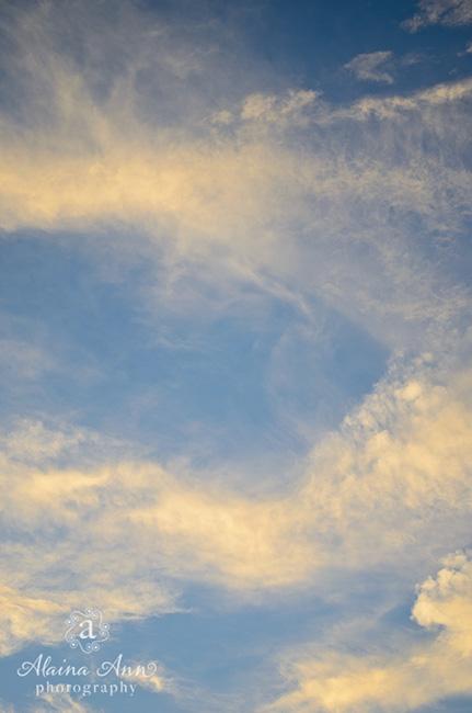Sunset Clouds | Photograph Story | Alaina Ann Photography