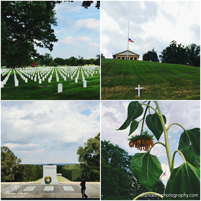Arlington National Cemetery | iPhone Favorites | Alaina Ann Photography