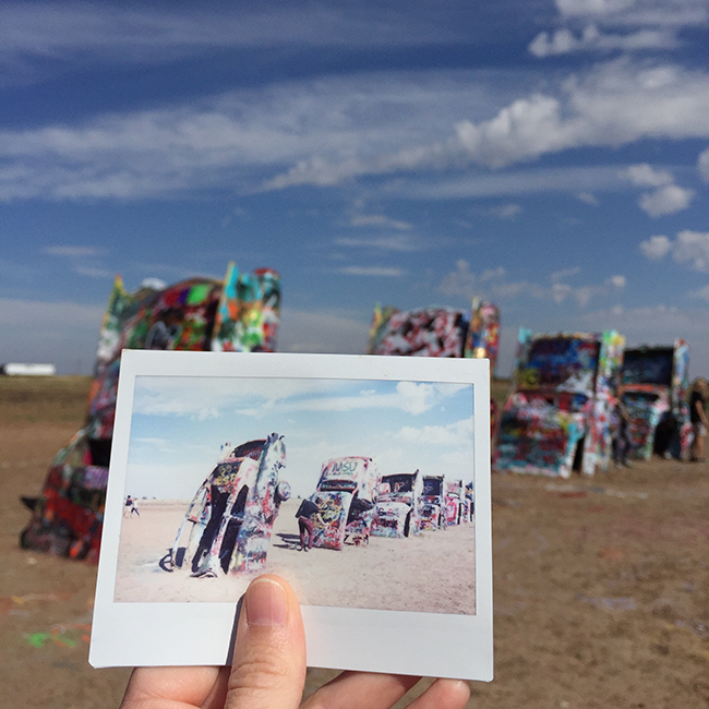 Cadillac Ranch | Alaina Ann Photography
