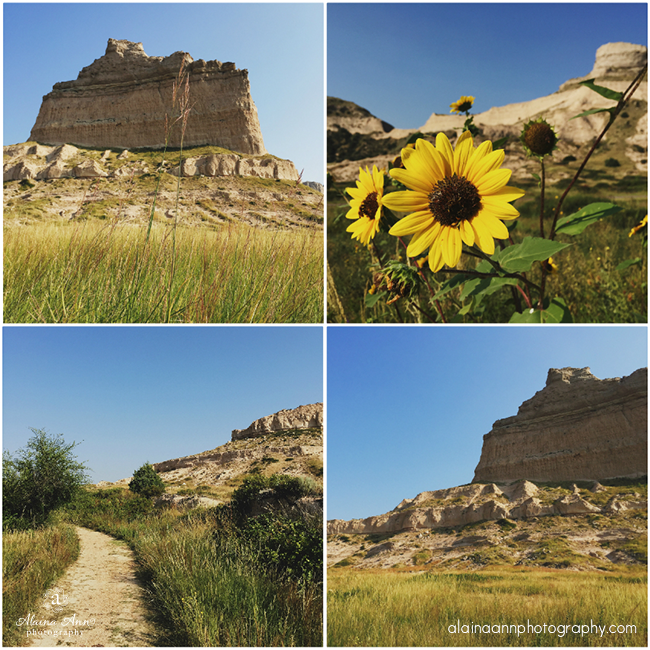 Scotts Bluff National Monument | iPhone Favorites | Alaina Ann Photography