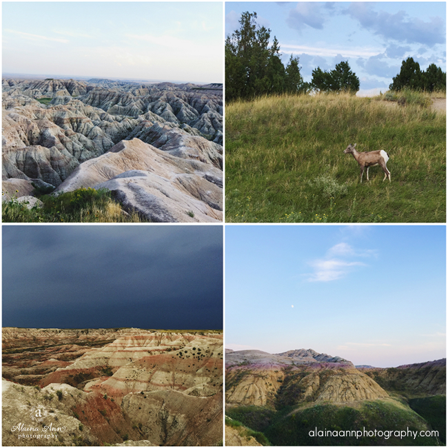 Badlands National Park | iPhone Favorites | Alaina Ann Photography