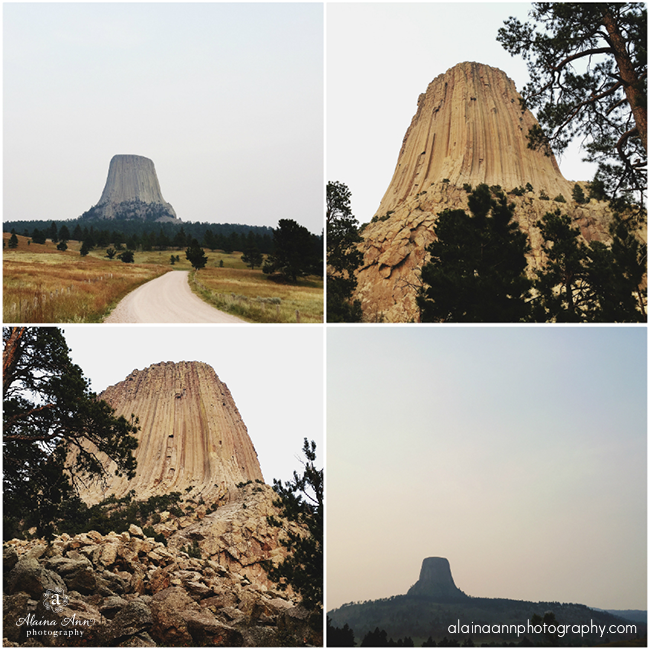 Devils Tower National Monument | iPhone Favorites | Alaina Ann Photography