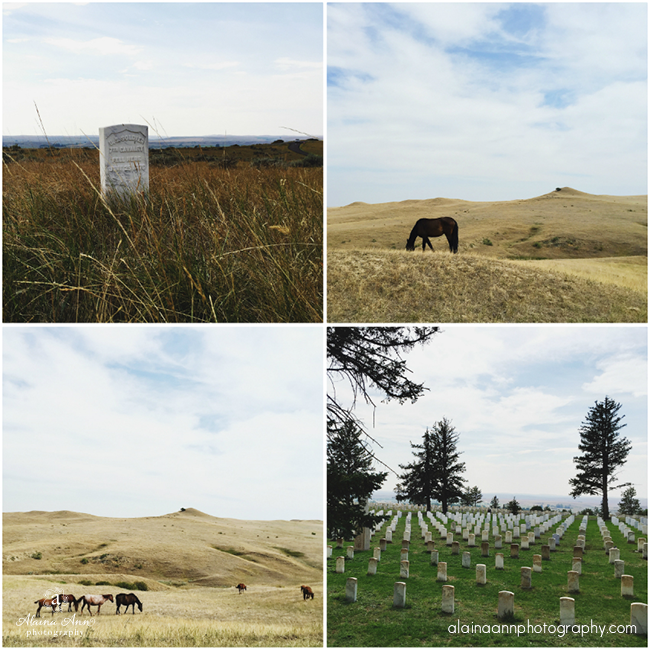 Little Bighorn Battlefield National Monument | iPhone Favorites | Alaina Ann Photography