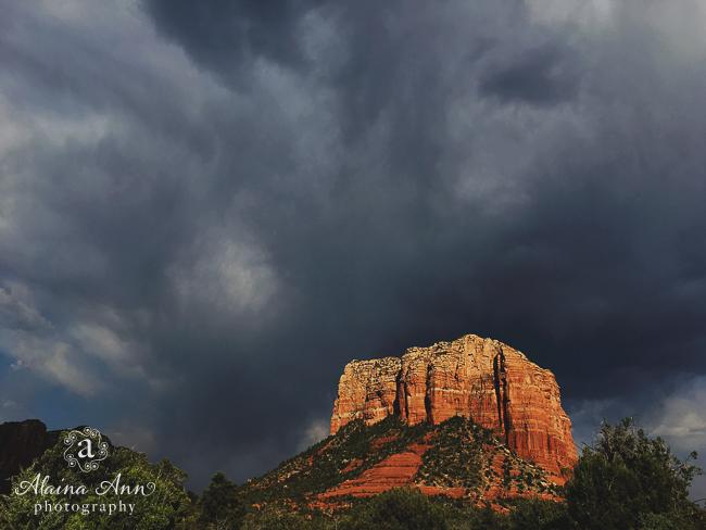Sedona Storm Clouds | Friday Favorite | Alaina Ann Photography