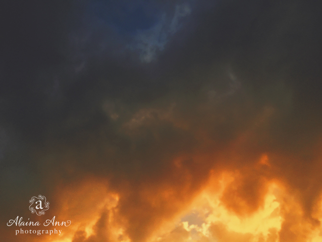Unsettled Sky | Friday Favorite | Alaina Ann Photography