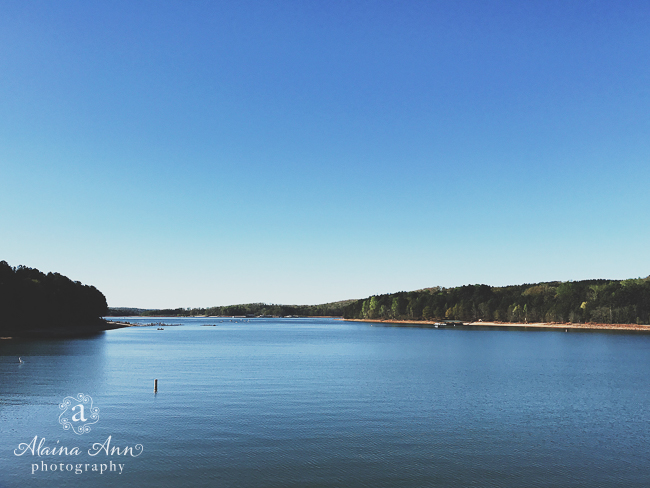Lake Hartwell | Friday Favorite | Alaina Ann Photography