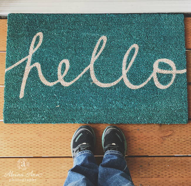 Hello from a New Home | Friday Favorite | Alaina Ann Photography