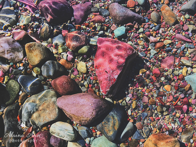 Colorful Stones | Friday Favorite | Alaina Ann Photography