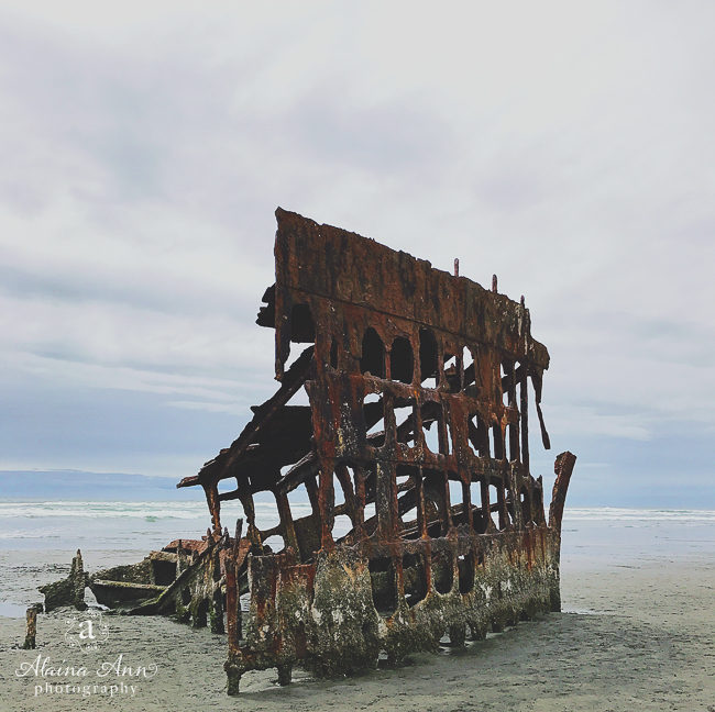 Shipwreck | Friday Favorite | Alaina Ann Photography