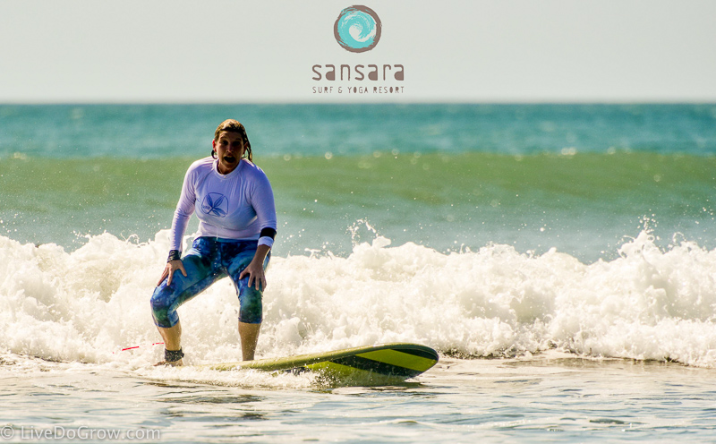 Surf and yoga retreat with SwellWomen