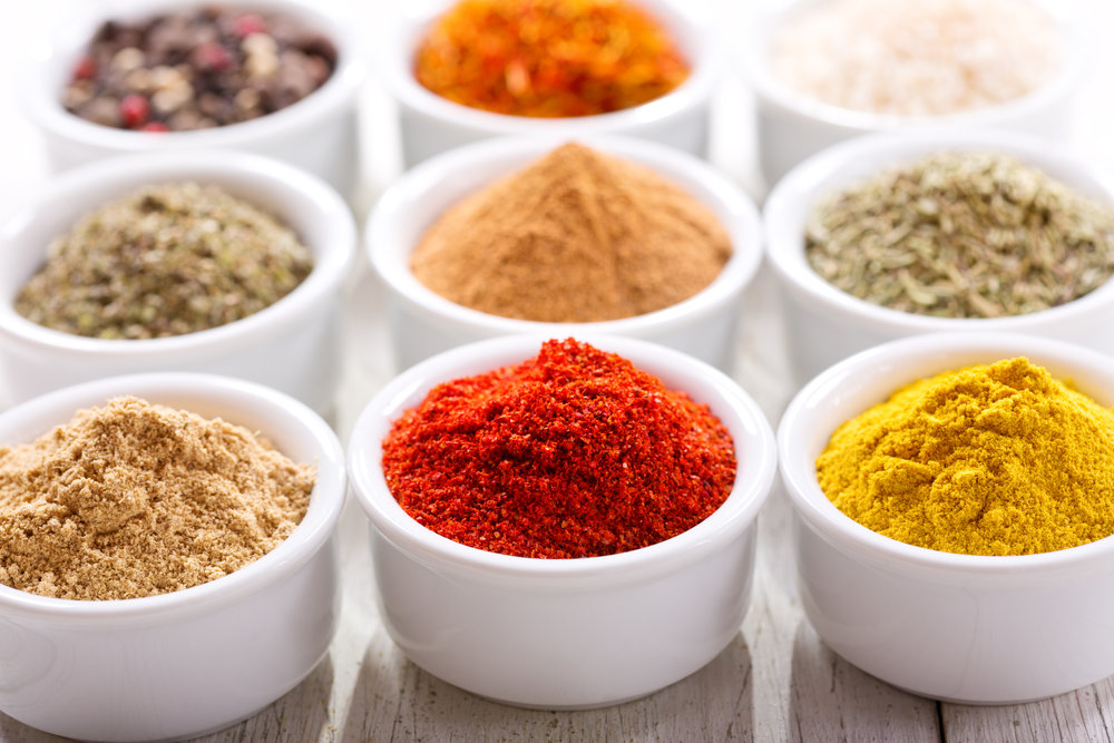 herbs spices and flavorings