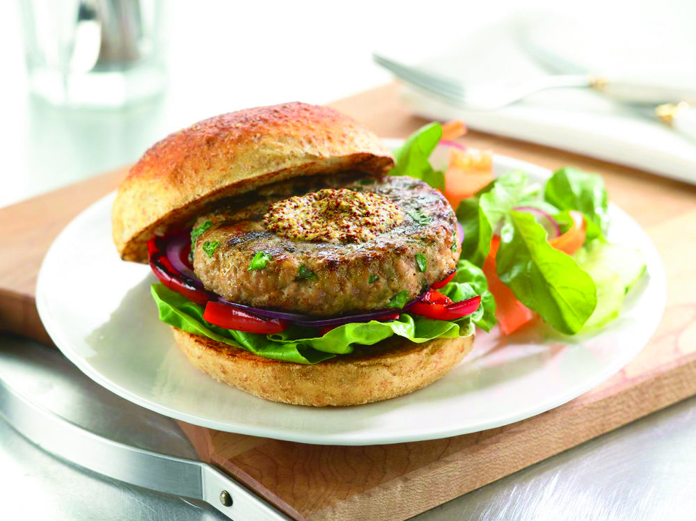 Dijon Veal Burger