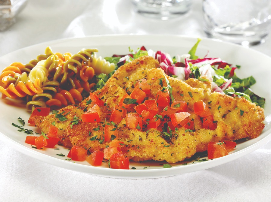 easy veal milanese