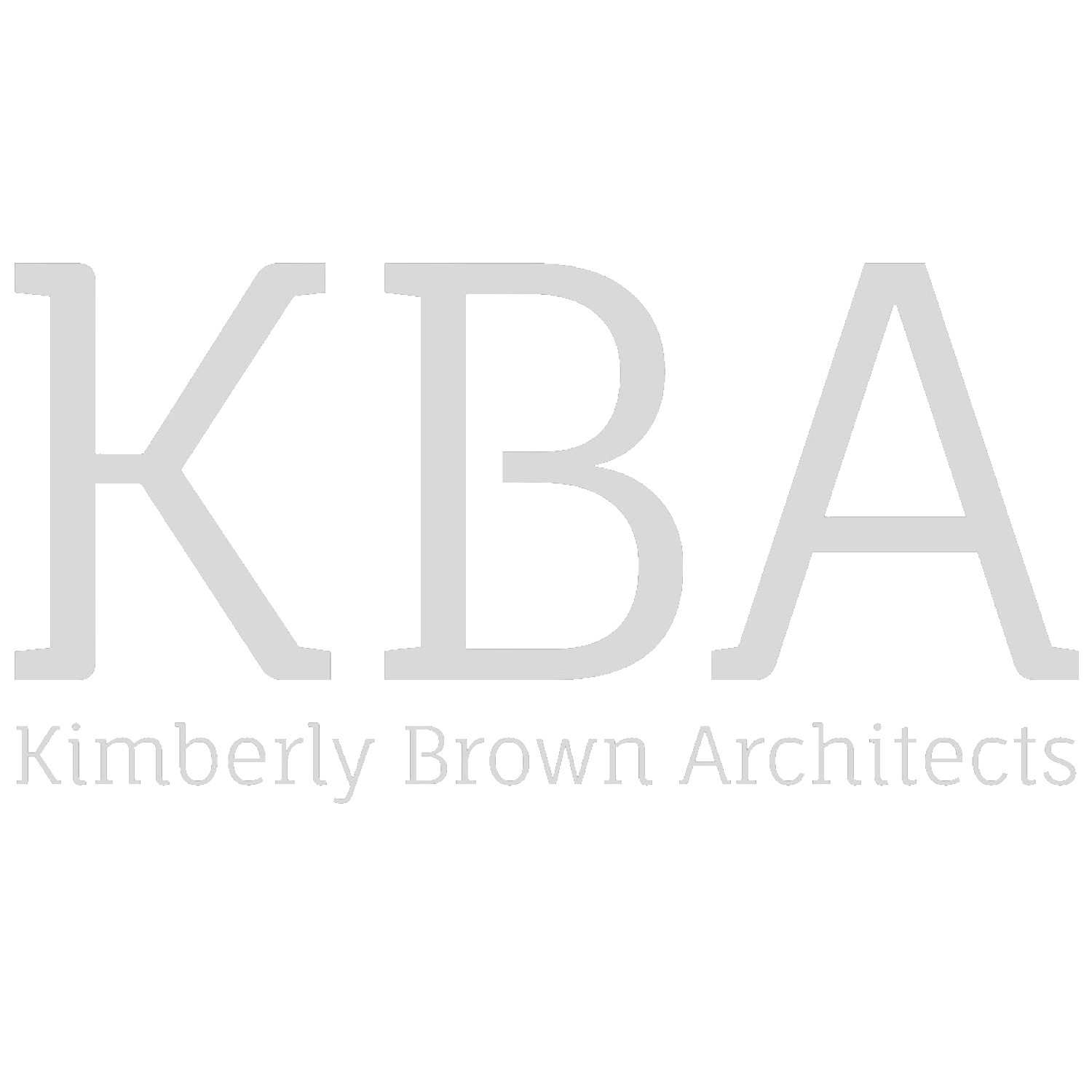 KIMBERLY BROWN ARCHITECTS