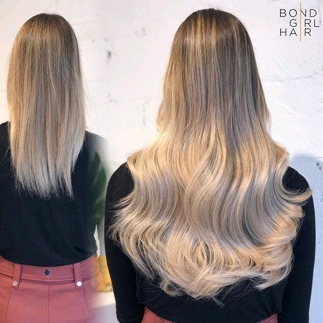 """Before & After 🥀 22"""" Tape Extensions for my soon to be Bride #bondgirlhair . . . @modernsalon @imallaboutdahair @behindthechair_com #extensionspecialist #beforeandafter #hairextensions #hair #extensions #tapeextensions #fusions #fusionextensions #longhairdontcare #hairgoals #goals #torontohair #torontoextensions #torontohairextensions #hairextensionstoronto #extensionstoronto #behindthechair #modernsalon #imallaboutdahair  #hairstyles #beauty #hairspo  #longhair #makeover #transformation #blonde #blondehair"""
