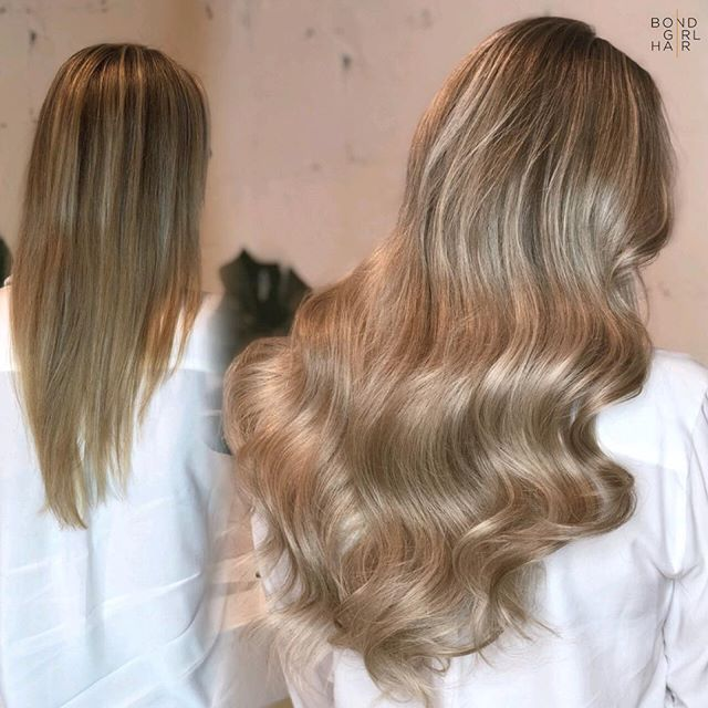 "Tape Extensions should be on everyone's Christmas list this year 🎁 . . . 🎁 These are 22"" Tape Extensions in #24 Platinum Ash Blonde & #18 Pepper Blonde #bondgirlhair . . @behindthechair_com @modernsalon @imallaboutdahair @gbbhair #extensionspecialist #beforeandafter #hairextensions #hair #extensions #tapeextensions #fusions #fusionextensions #longhairdontcare #hairgoals #goals #torontohair #torontoextensions #torontohairextensions #hairextensionstoronto #extensionstoronto #behindthechair #modernsalon #imallaboutdahair  #hairstyles #beauty #hairspo  #longhair #makeover #transformation #blonde #blondehair"