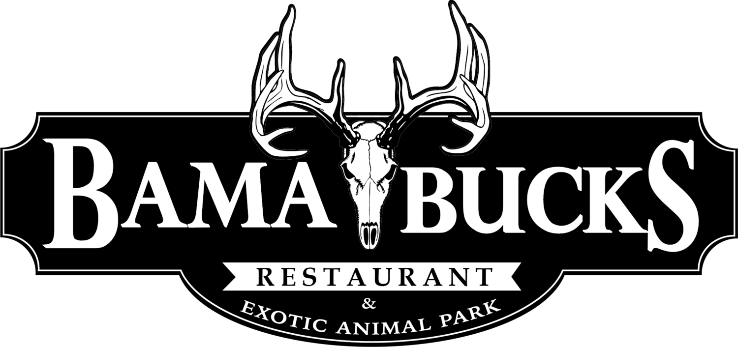 Bama Bucks - Steakhouse & Wild Game Restaurant - Exotic Animal Park