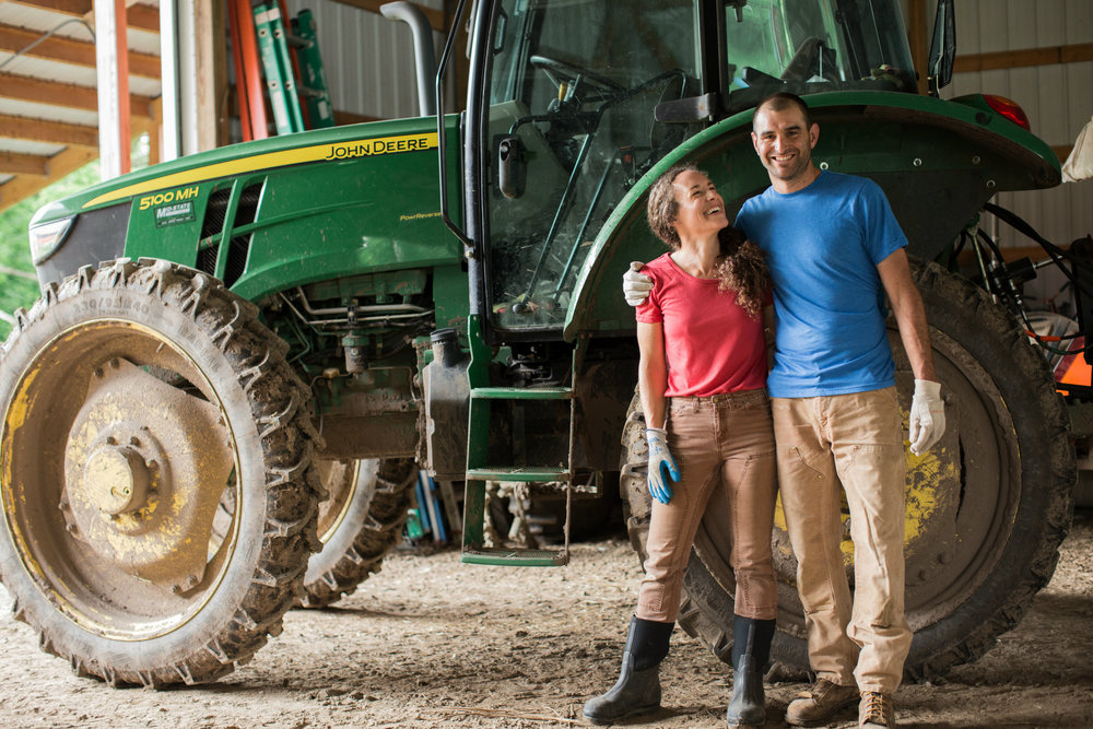 Jesse and Jonnah - We have been farming side by side for over a decade. Our steadfast commitment to organic and regenerative agriculture is anchored by a belief that the environment and food system can either be improved or destroyed by our collective food choices and farming practices.