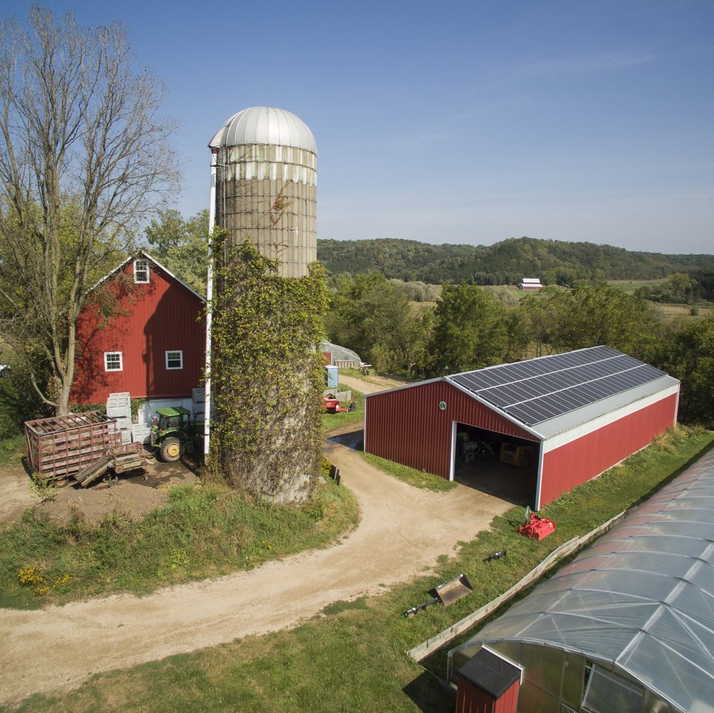 Vermont valley Community Farm - We produce our seed potatoes and garlic on our family's farm, Vermont Valley.