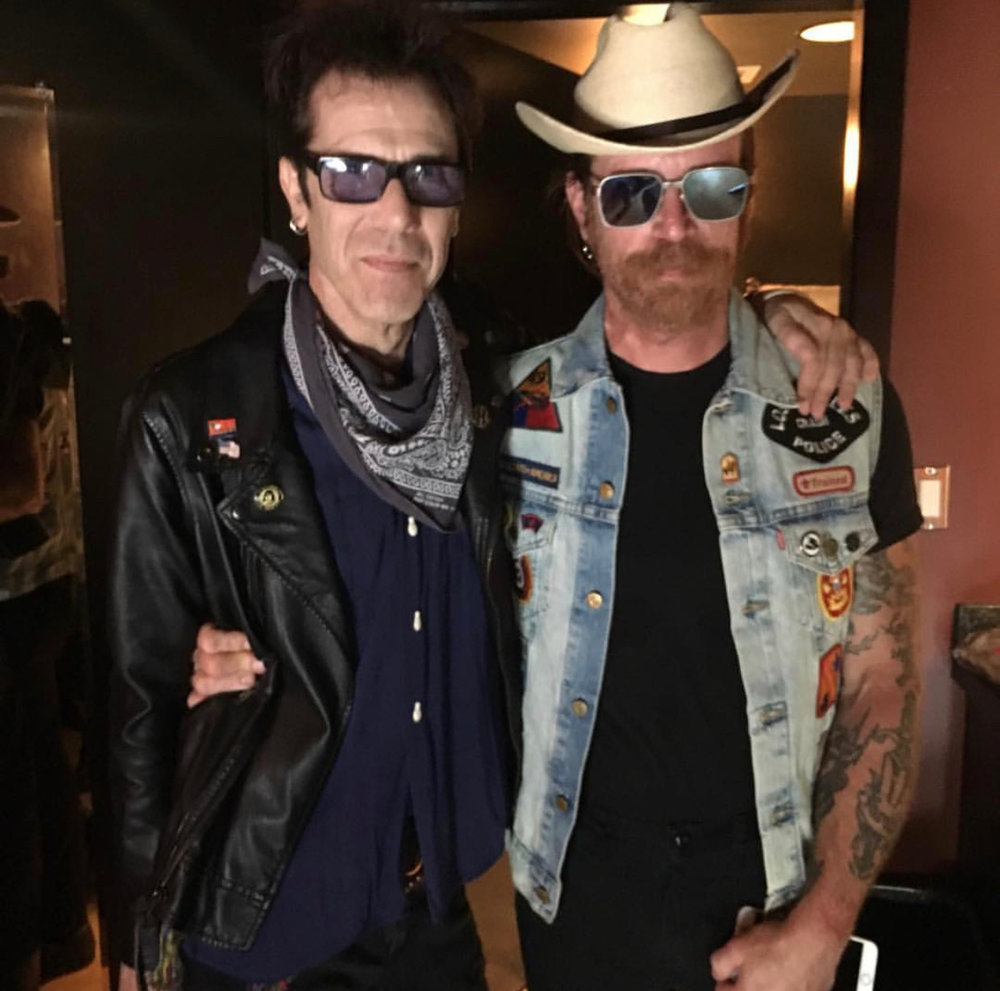 Jim with Jesse Hughes