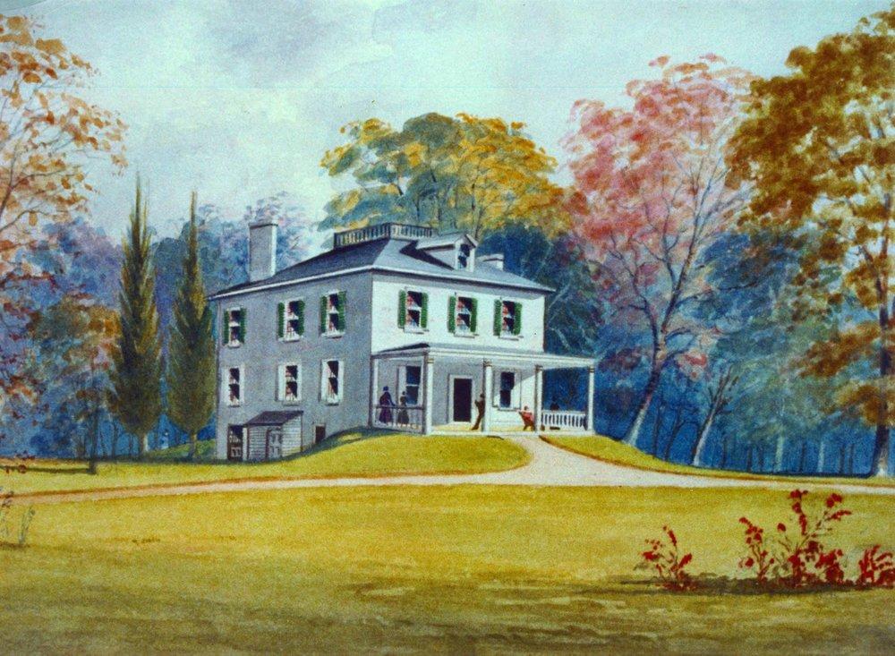 Ormiston Mansion Watercolor