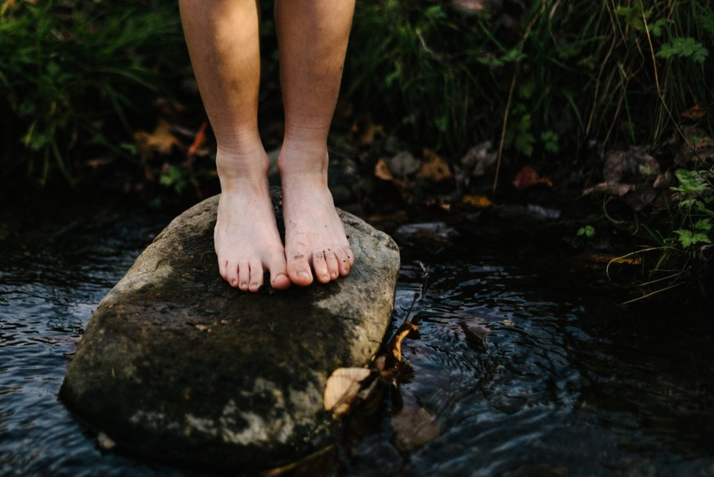 Alternate Foot-baths to Harmonize the Sense of Balance - Alternate footbaths can be a fun and easy treatment that provide an experience of moving between temperatures which stimulates the Sense of Balance and the Sense of Warmth, promoting inner equilibrium and awareness of the warmth of the body in relation to the environment. As simple as these treatments seemingly are, they provide awareness and understanding that is only possible through experience. Being told how things are does not give us a measure; experience gives us a measure.