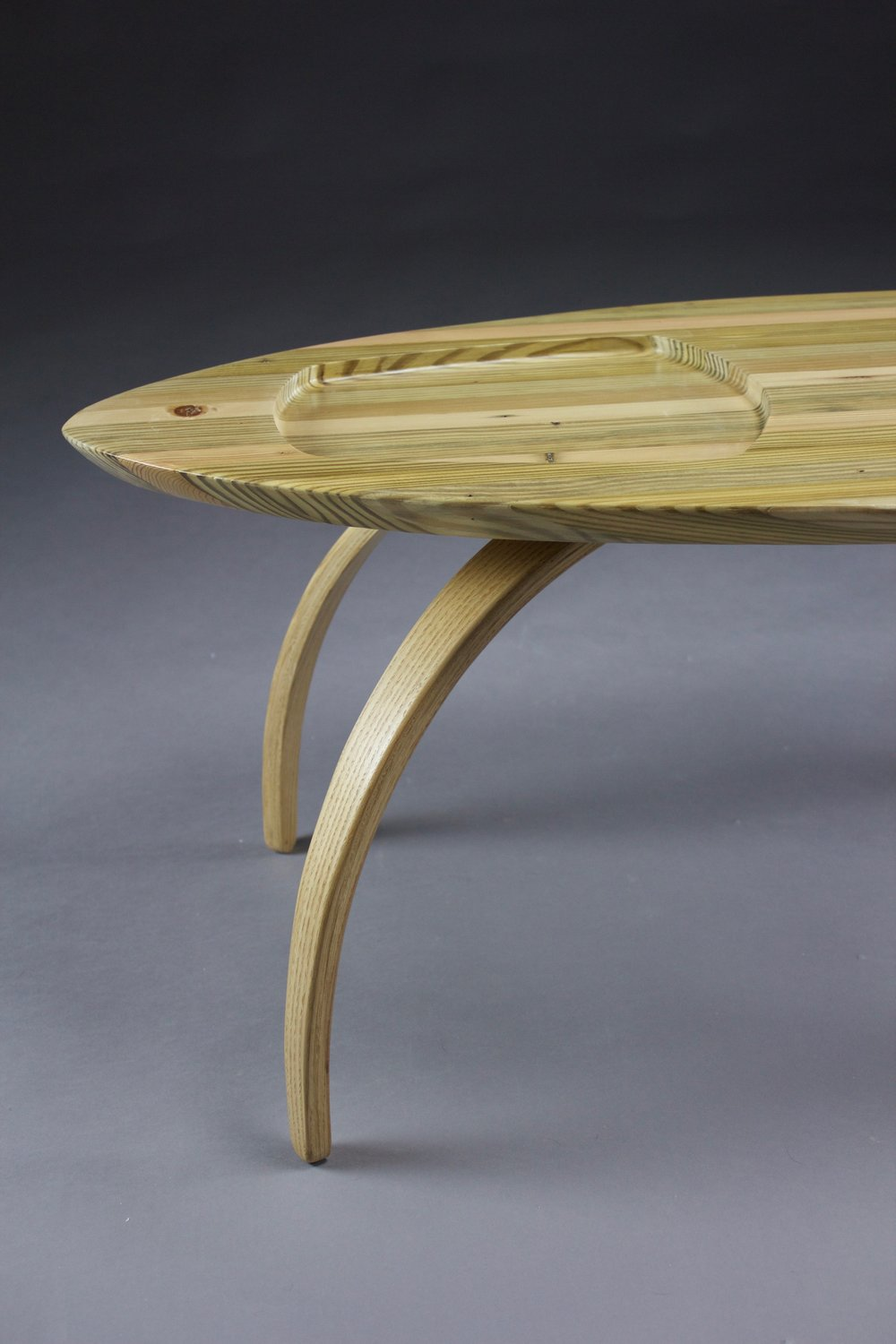 Bent Lamination Coffee Table,  2016