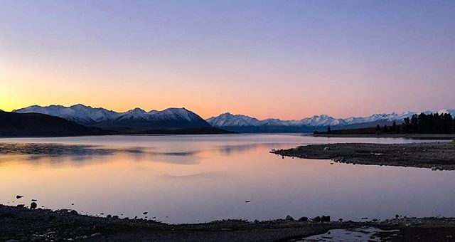 Haven't posted a decent sunset shot for a while so here you go. Throwback to driving to Queenstown in winter. looking out over @destinationtekapo. . . . #landscape #sunset #color #light #nature #laketekapo #scenery #newzealand #destinationnz #purenz #tourism #adventure #roadtrip #epic #pretty #naturephotography #fujifilm #hues #neverstopexploring #nz #goodtimes #igers #picturesque #dailyphoto #photooftheday