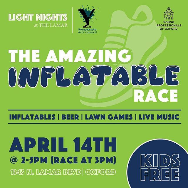 **Please note date change** Join us for the fun! More information and tickets available at https://oxfordarts.com/shop/product/1636-the-amazing-inflatable-race  #oxfordms #thelamarofoxford #theoxfordwayoflife