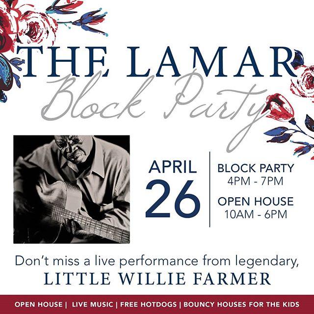 Join us at The Lamar! #oxfordms #thelamarofoxford @thelamaroxfordms