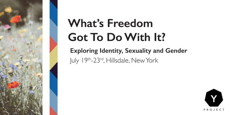 """- In 2019, from July 19th-23rd, there will be a youth conference near Harlemville, New York. The title is """"What's Freedom Got to Do with It? Identity, Sexuality and Gender"""" and it is part of the larger Y Project. Y Project is a section of Developing the Self Developing the World accessible to young adults from 16 years old. It provides mentors, health services, artistic programmes and events that are fully or partially funded by profits from Developing the Self Developing the World and external donations.Community events are emerging across Australia and America, and individuals are engaging with mentors or health services to support them on various levels. Diverse opportunities are being made available as more contributors come forward through Inner Work Path and recipients also contribute to the Y Project.Contact Jen Zimberg @ jen.zimberg@gmail.com"""