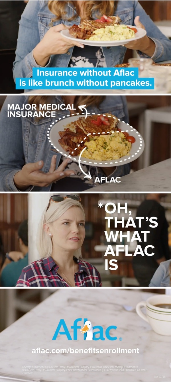 Aflac Brunch Commercial