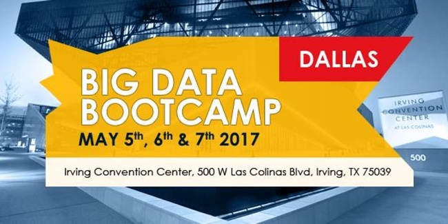 Big Data Bootcamp in Dallas May 5-7
