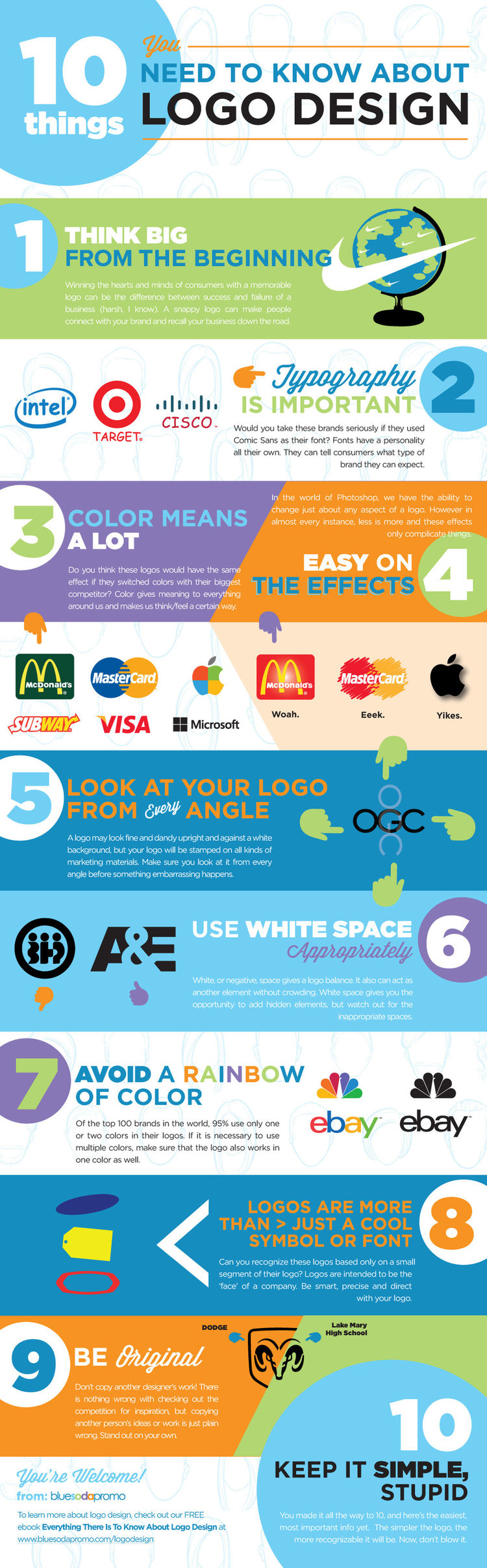 How Corporate Logos Evolve — Cool Infographics