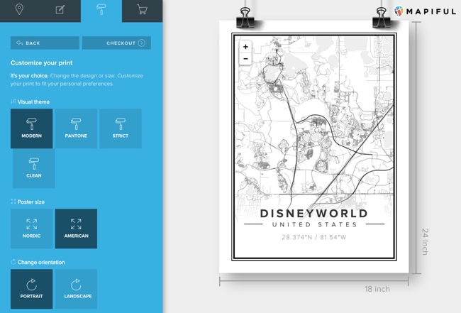 Beautiful Map Posters of Anywhere
