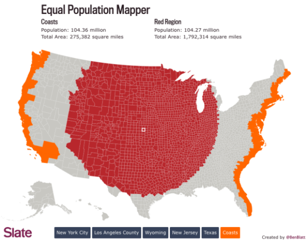 Equal Population Mapper  infographic