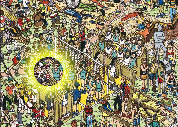Finding Waldo by Visualizing Patterns infographic