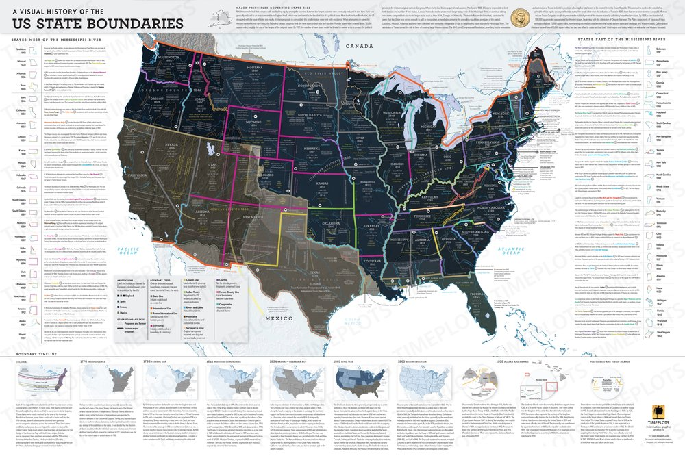 A Visual History of U.S. State Boundaries