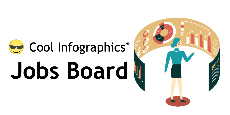 Jobs Board For Dataviz Infographics Designers Cool Infographics