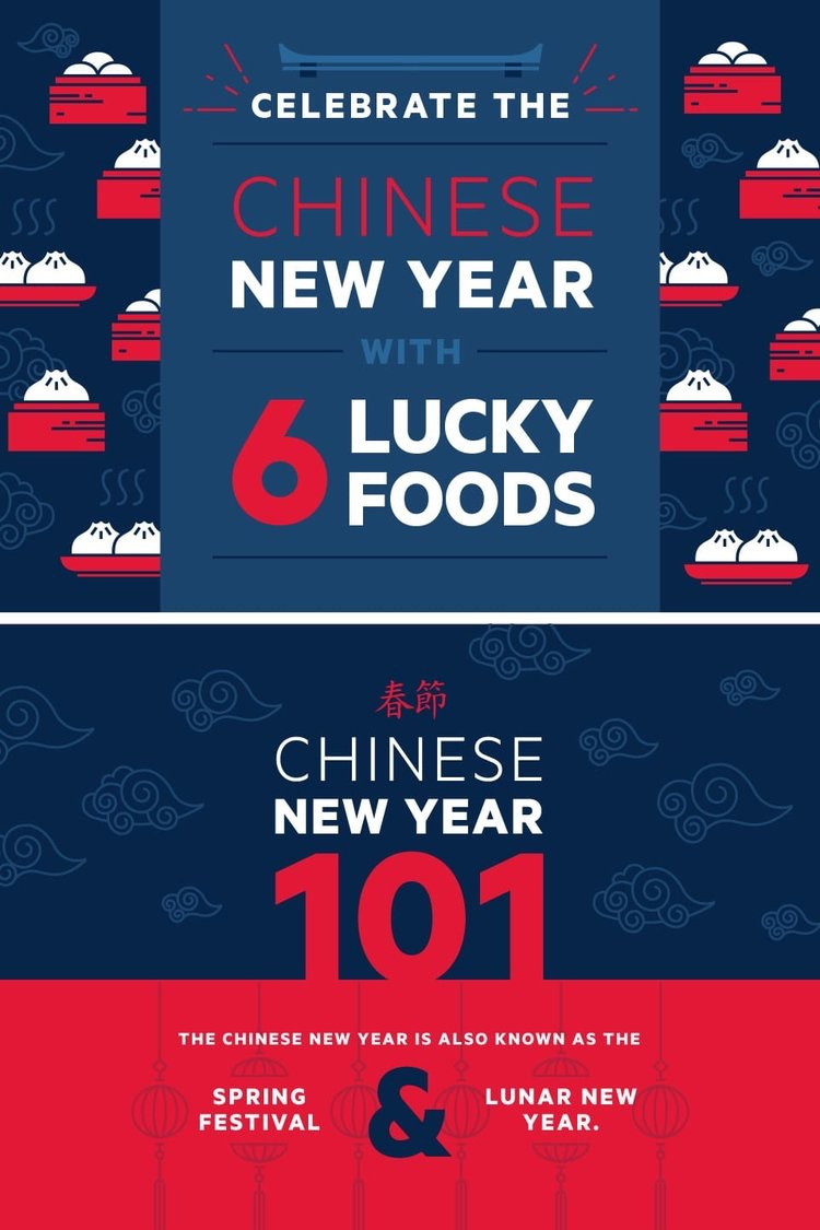 Celebrate the Chinese New Year with 6 Lucky Foods