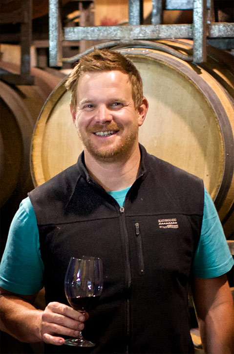 Winemaker Luke Eckersley