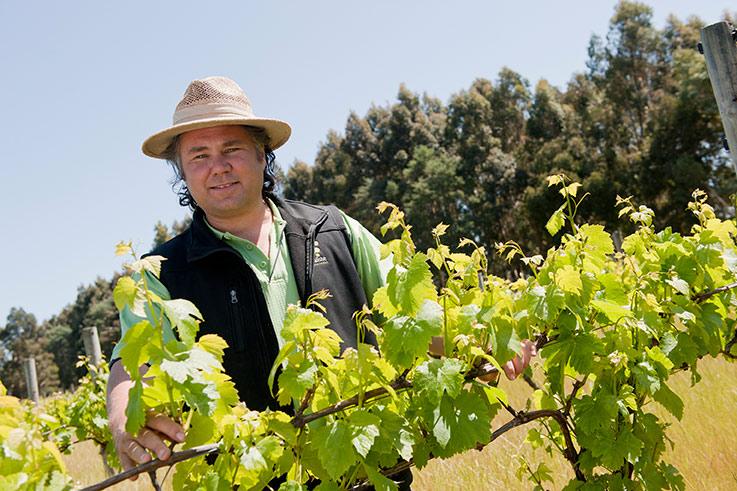 Winemaker Bruce Dukes